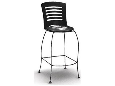 Homecrest Latte Steel Side Bar Stool Replacement Cushions