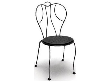 Homecrest Espresso Steel Side Stackable Dining Chair Replacement Cushions