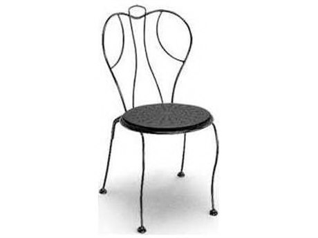 Homecrest Espresso Steel Side Stackable Dining Chair Replacement Cushions Replacement Cushions