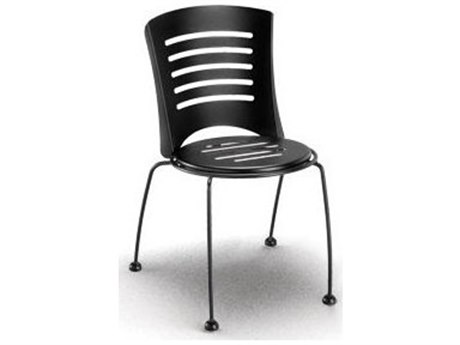 Homecrest Latte Steel Side Stackable Dining Chair Replacement Cushions