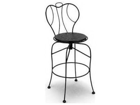 Homecrest Espresso Steel Side Swivel Bar Stool Replacement Cushions Replacement Cushions