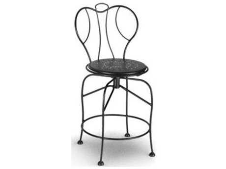 Homecrest Espresso Steel Counter Stool
