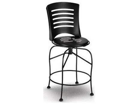 Homecrest Latte Steel Side Swivel Counter Stool Replacement Cushions
