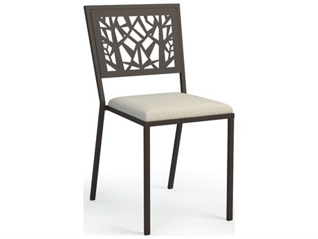 Homecrest Echo Steel Armless Cafe Chair Stackable