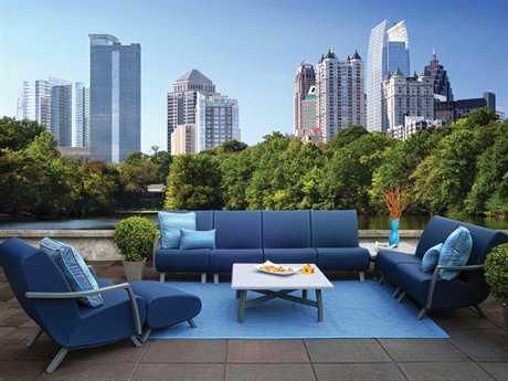 Homecrest Airo2 Aluminum Lounge Set