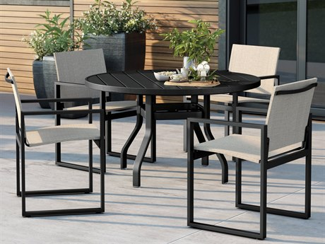 Homecrest Allure Aluminum Dining Set