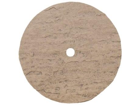 Homecrest Sandstone 36 Round Table Top with Umbrella Hole