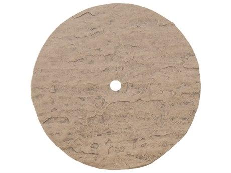 Homecrest Sandstone 42 Round Table Top with Umbrella Hole