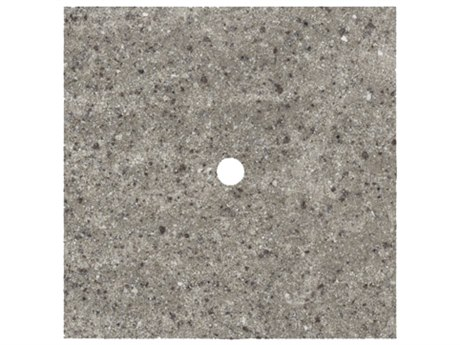 Homecrest Shadow Rock Stone 36 Square Table Top with Umbrella Hole