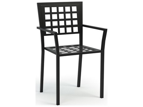Homecrest Manhattan Steel Arm Stackable Dining Chair Replacement Cushions
