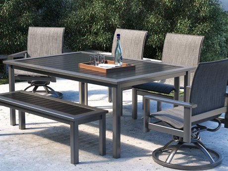 Homecrest Elements Sling Aluminum Dining Set