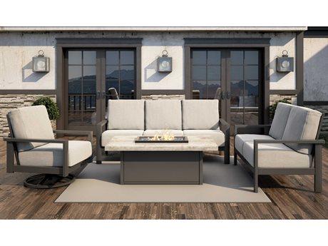 Homecrest Elements Cushion Aluminum Lounge Set