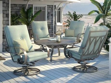 Homecrest Emory Aluminum Lounge Set