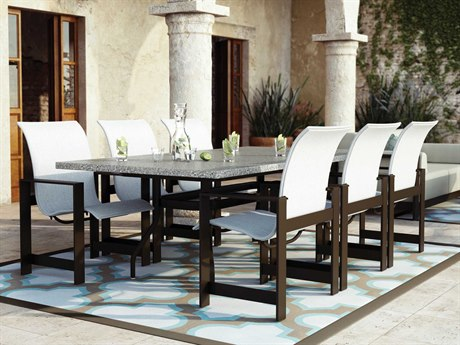 Homecrest Grace Sling Aluminum Dining Set
