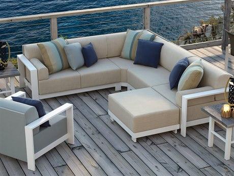 Homecrest Grace Modular Aluminum Lounge Set