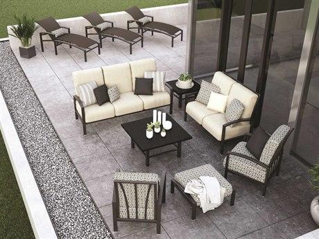 Homecrest Havenhill Cushion Aluminum Lounge Set