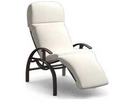 Homecrest Holly Hill Cushion Aluminum Arm Adjustable Lounge Chair