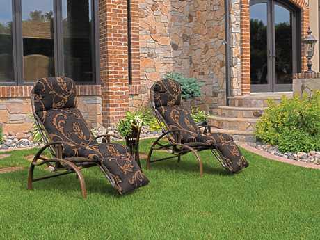 Homecrest Holly Hill Cushion Aluminum Lounge Set