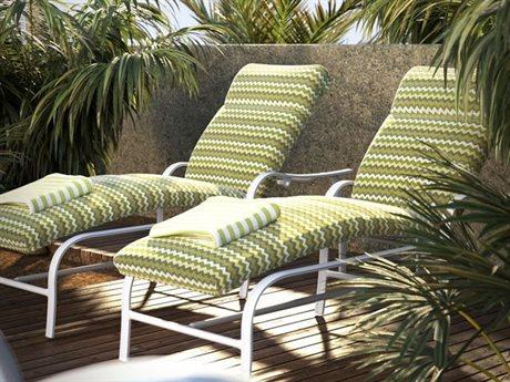 Homecrest Holly Hill Cushion Aluminum Lounge Set - Homecrest Patio Furniture & Homecrest Outdoor Living LuxeDecor