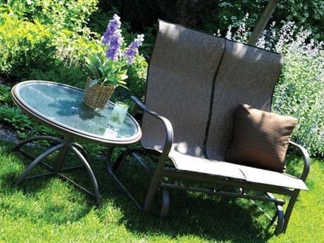 Homecrest Holly Hill Sling Aluminum Lounge Set