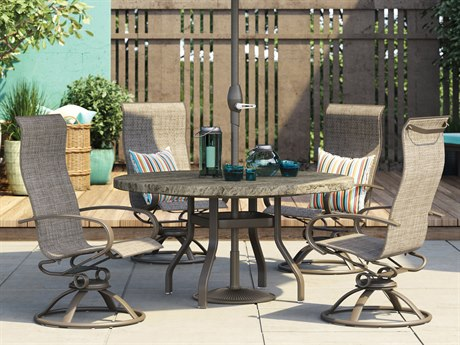 Homecrest Harbor Aluminum Dining Set