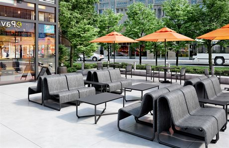 Homecrest Infiniti Air - Sensation Sling Aluminum Lounge Set