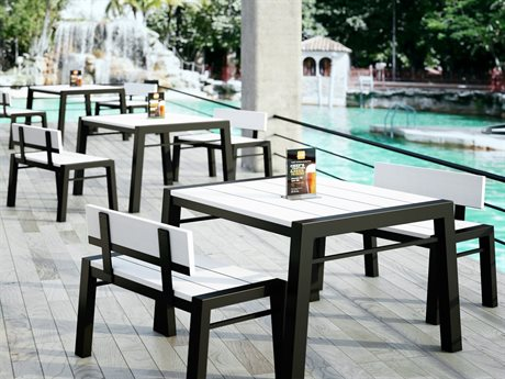 Homecrest Maddox Aluminum Dining Set PatioLiving