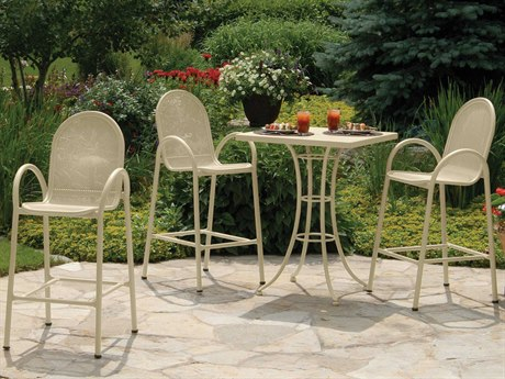Homecrest Passport Bar Aluminum Dining Set HCPASSDS