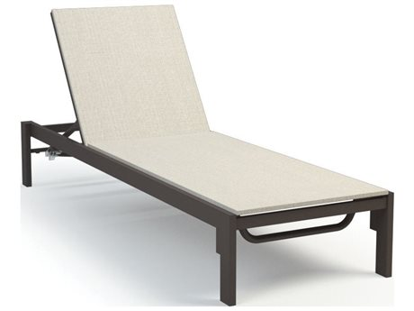 Homecrest Allure Quick Ship Aluminum Sling Chaise Lounge