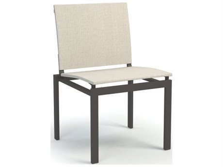 Homecrest Allure Quick Ship Sling Aluminum Dining Chair