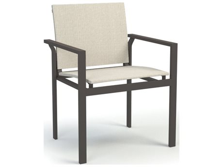 Homecrest Allure Quick Ship Aluminum Sling Dining Chair HCQ12370