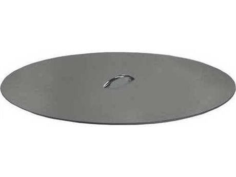 Homecrest Quick Ship Aluminum 22'' Wide Round Fire Pit Burner Cover PatioLiving
