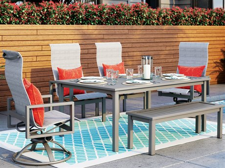 Homecrest Sutton Aluminum Dining Set