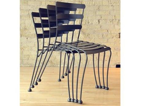 Homecrest Wynn Steel Stackable Cafe Chair Set