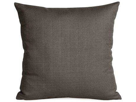 Howard Elliott Square 16 x 16 Charcoal Pillow