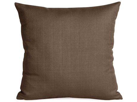 Howard Elliott Sterling Chocolate 16'' x 16'' Pillow