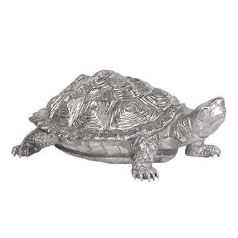 Howard Elliott Turtle Textured Pewter Sculpture
