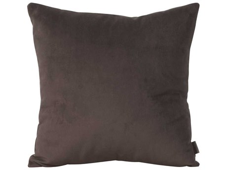 Howard Elliott Square 16 x 16 Brown Pillow