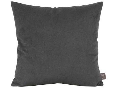 Howard Elliott Bella Pewter 16'' x 16'' Pillow
