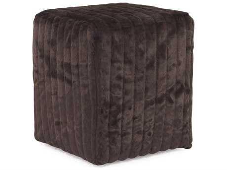 Howard Elliott Mink Brown Universal Cube Ottoman