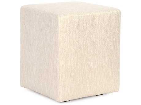 Howard Elliott Glam Snow Universal Cube Ottoman