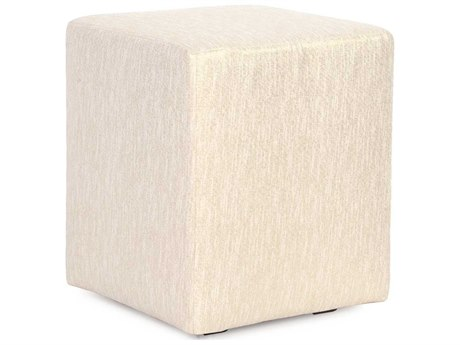 Howard Elliott Glam Snow Universal Cube Ottoman