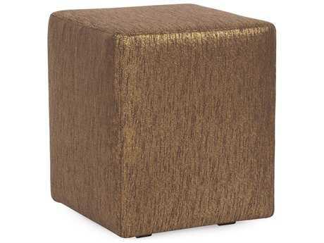 Howard Elliott Glam Chocolate Universal Cube Ottoman