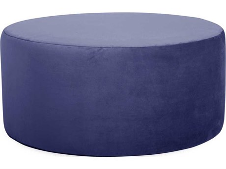 Howard Elliott Universal 36 Round Bella Royal Ottoman