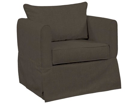 Howard Elliott Alexandria Sterling Charcoal Club Chair