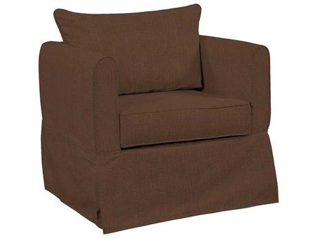 Howard Elliott Alexandria Sterling Chocolate Chair