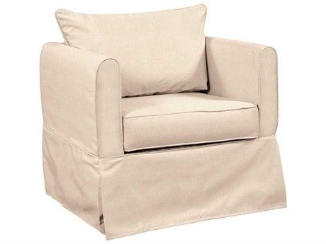 Howard Elliott Alexandria Sterling Sand Club Chair