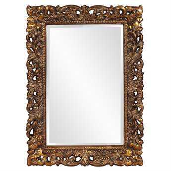 Howard Elliott Barcelona 32 x 46 Gold Wall Mirror