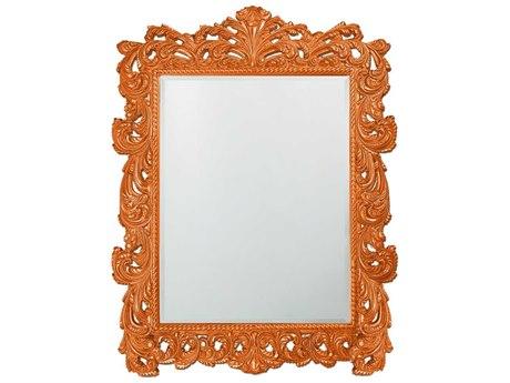 Howard Elliott Napolean 63 x 85 Glossy Orange Wall Mirror