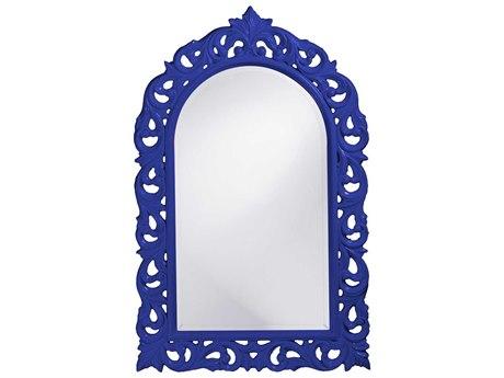 Howard Elliott Orleans 30 x 47 Royal Blue Wall Mirror